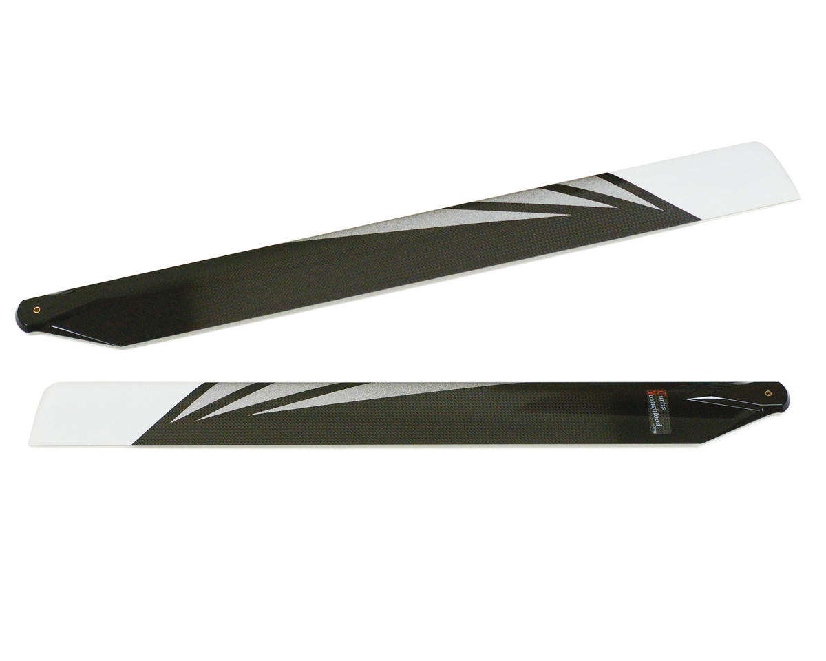 "Curtis Youngblood 600mm Radix Main Rotor Blades (126g - ""Stick Bangers"")"