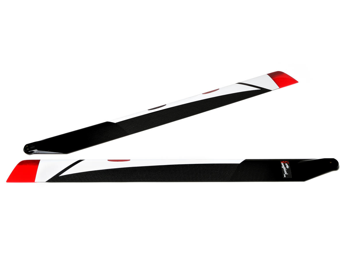 Curtis Youngblood 690mm Radix Main Rotor Night Blades w/Battery & Charger