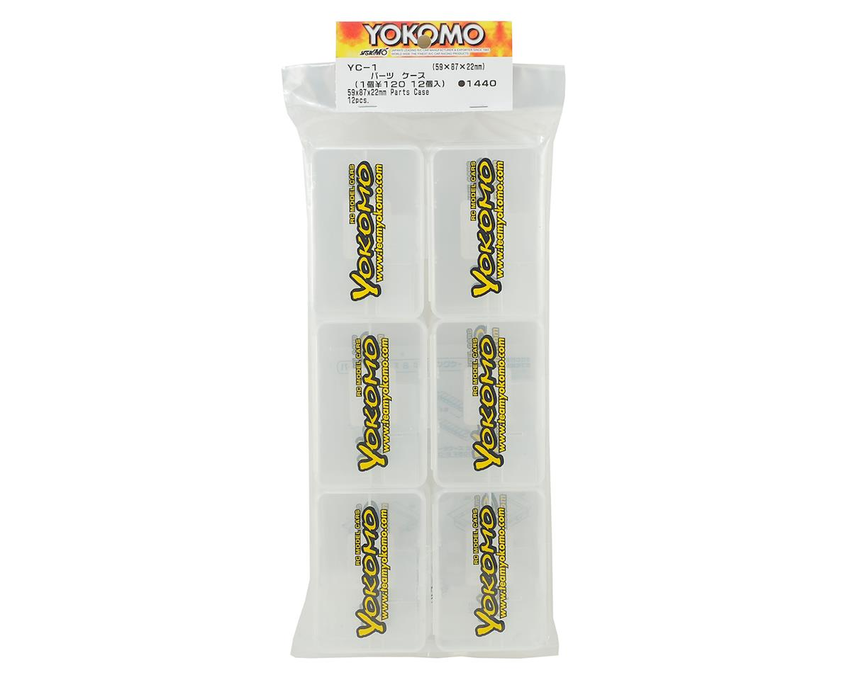 Yokomo Plastic Parts & Screws Carrying Case (12) (59x87x22mm)
