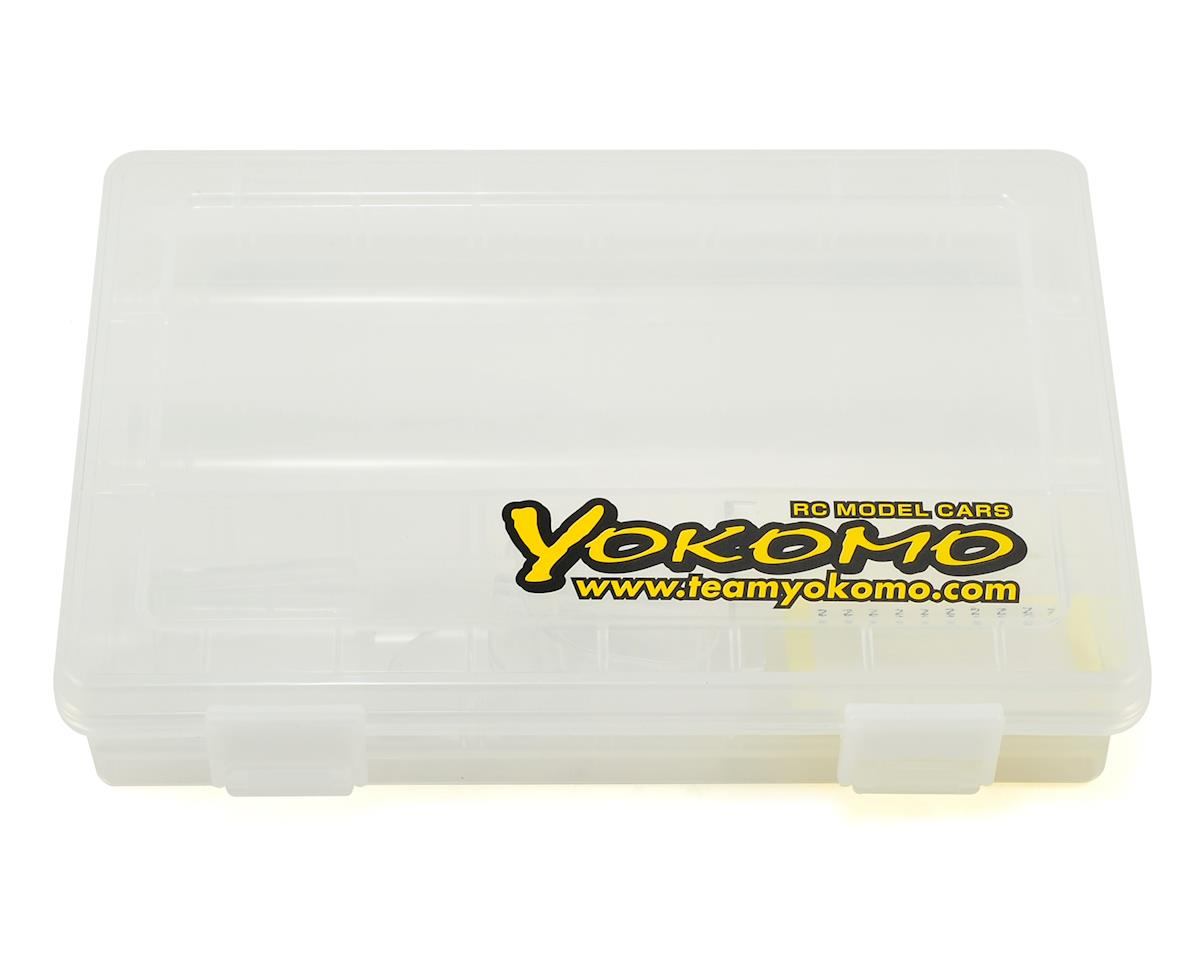 Yokomo Plastic Parts & Screws Carrying Case (145x207x40mm)