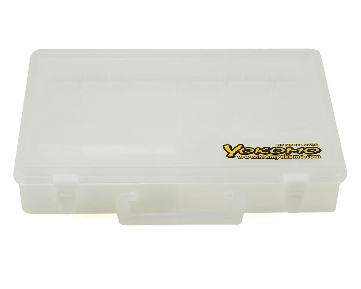 Yokomo Plastic Parts & Screws Carrying Case (228x332x72mm)