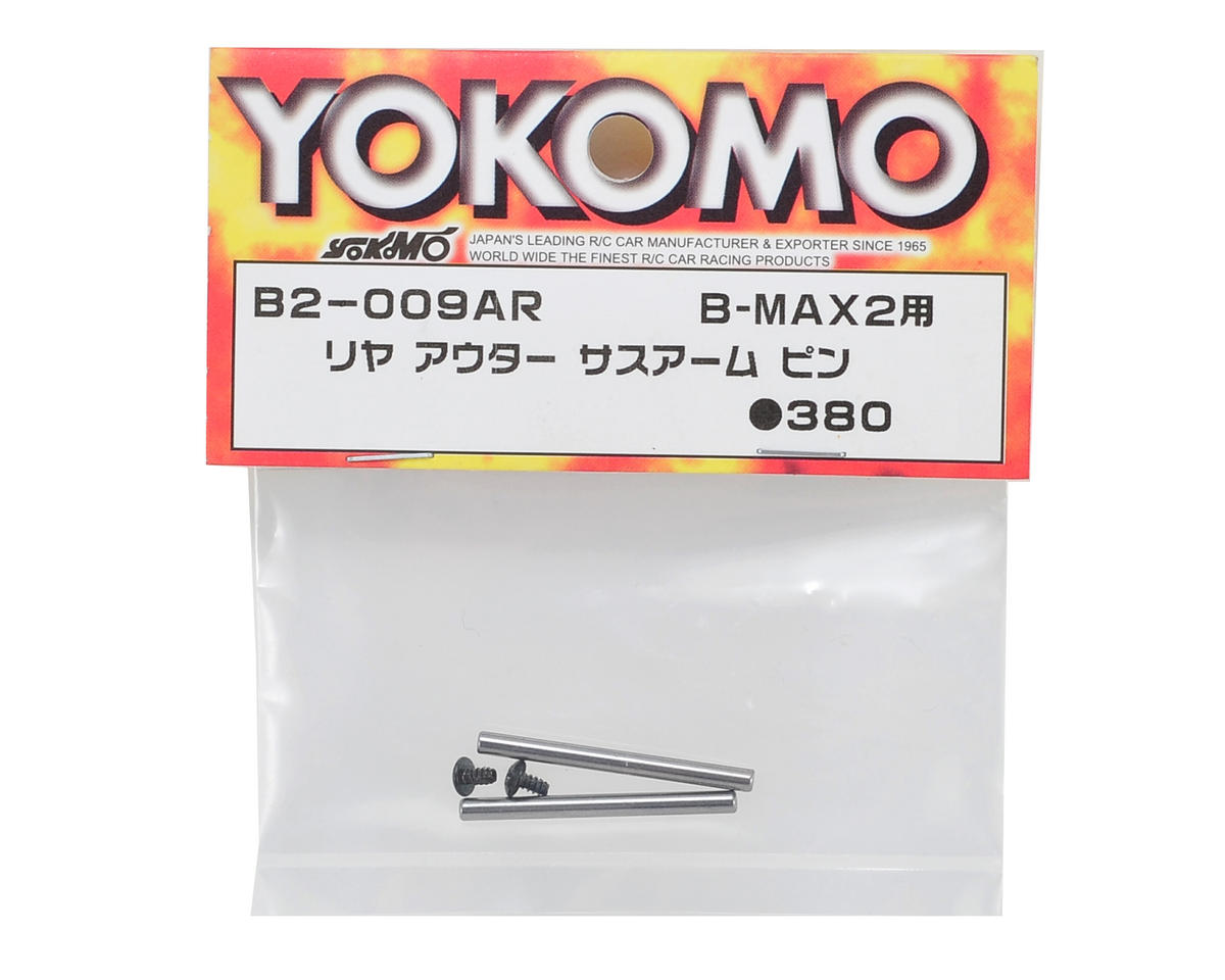 Yokomo Rear Outer Hinge Pin Set (2)