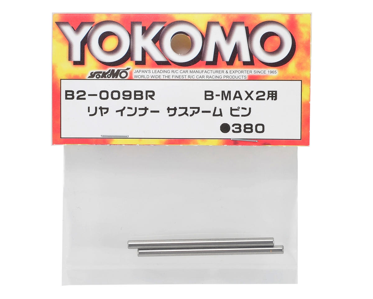 Rear Inner Hinge Pin Set (2) by Yokomo