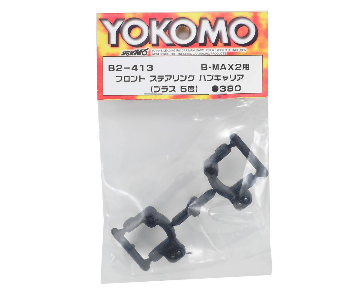 Yokomo 5° Front Steering Hub Set (2)