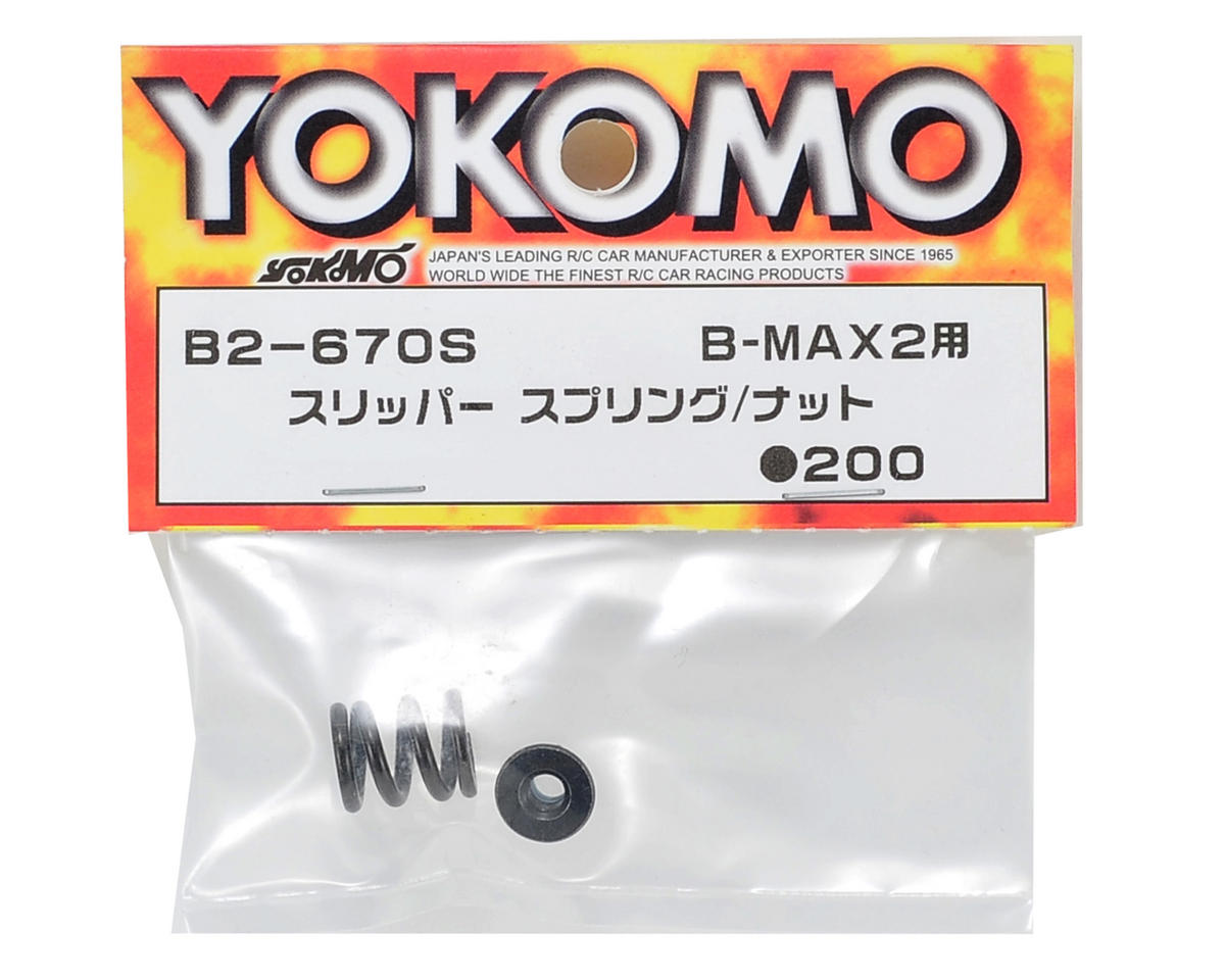 Slipper Spring & Nut Set by Yokomo