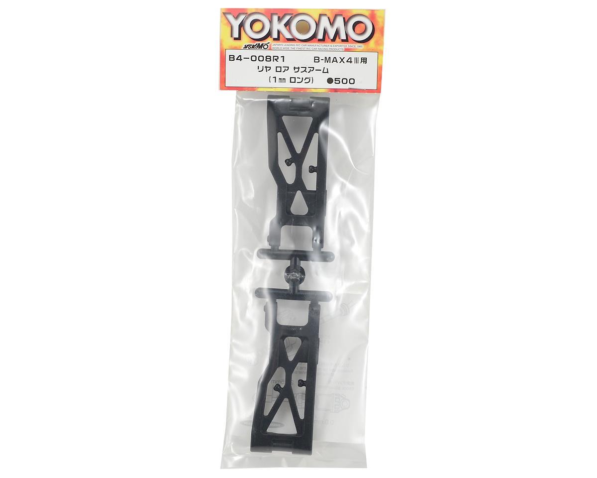 +1mm Rear Lower Suspension Arm (2) by Yokomo