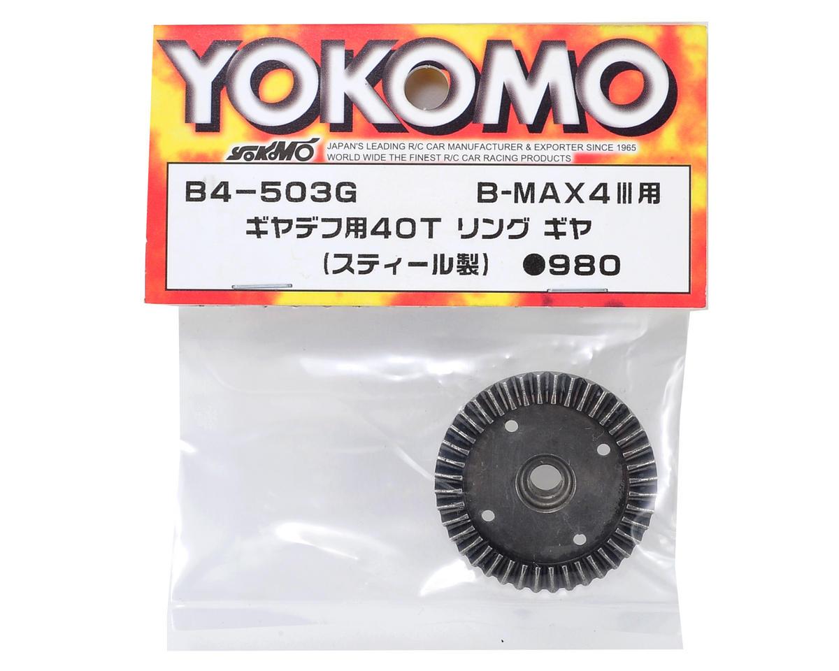Yokomo Steel Gear Differential Ring Gear (40T)