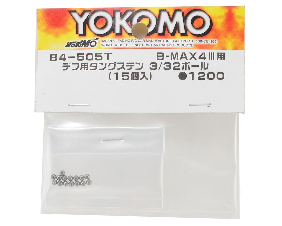 Yokomo 3/32 Tungsten Carbide Differential Ball (15)