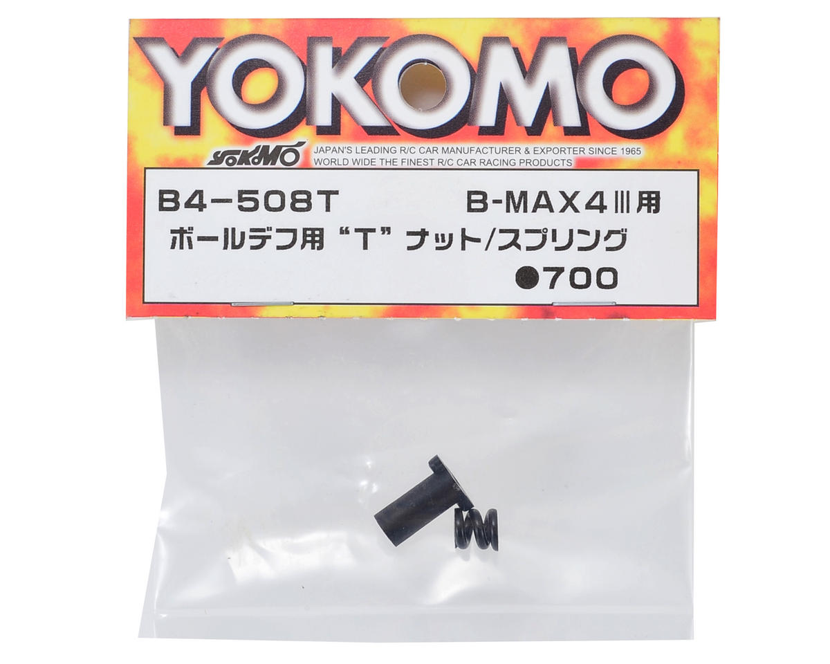 Yokomo Ball Differential T-Nut & Spring