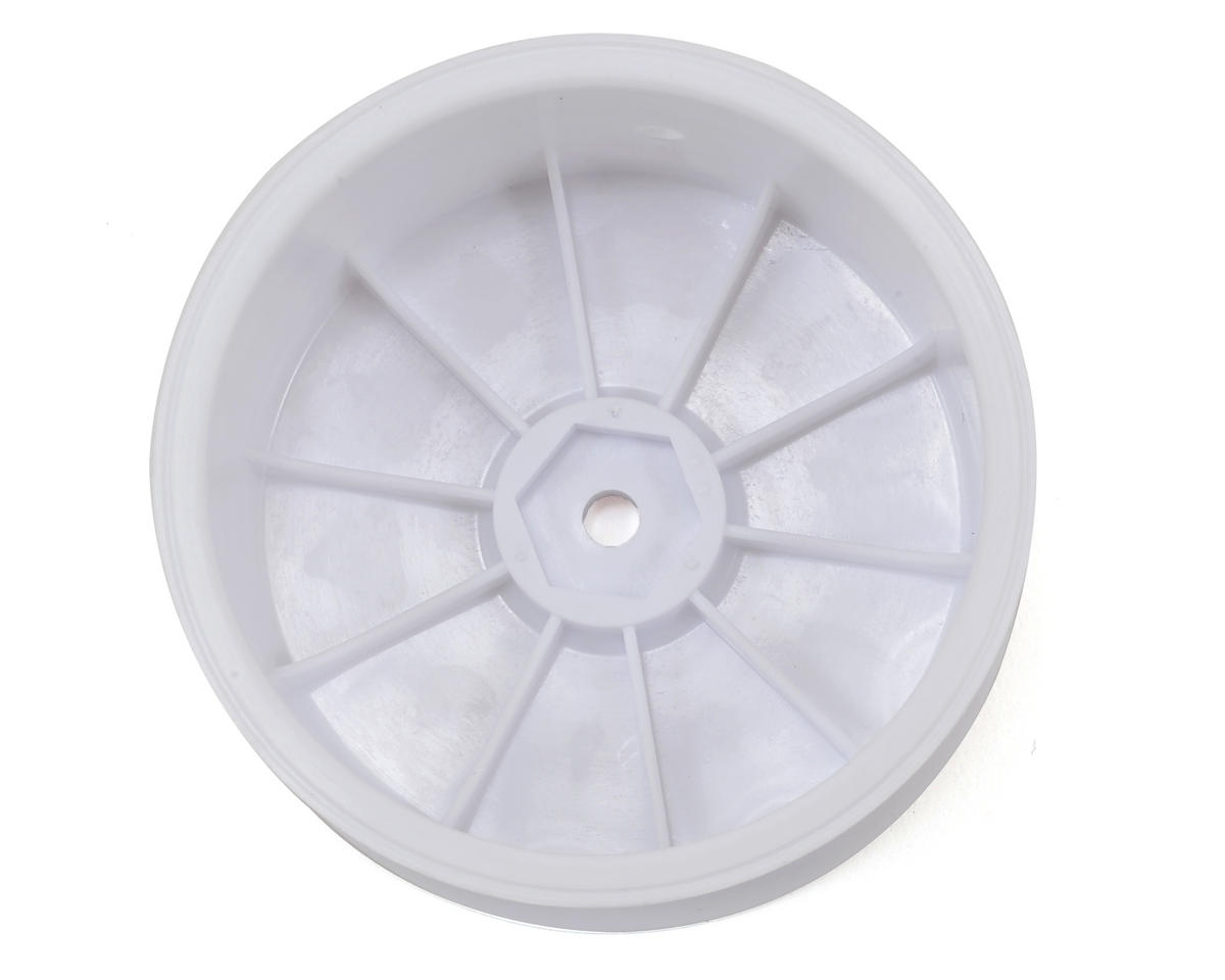 Yokomo 12mm Hex 1/10 4WD Front Buggy Wheels (White) (2) (YZ-4/B-MAX4)