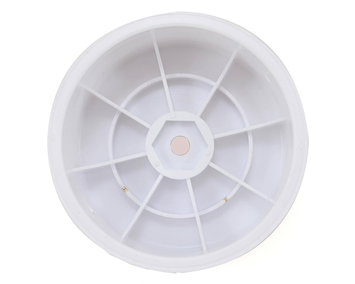 Yokomo 12mm Hex 1/10 Rear Buggy Wheels (White) (2) (YZ-2/YZ-4/B-MAX)