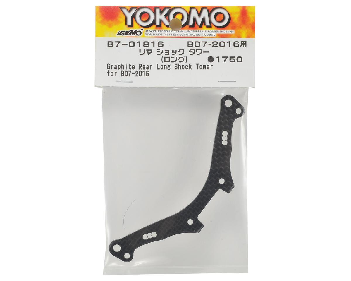 "Yokomo Carbon Fiber ""Long"" Rear Shock Tower"