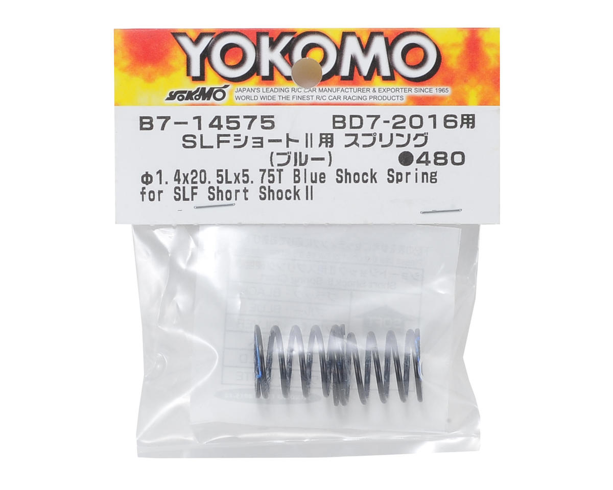 Yokomo Shock Spring Set (Blue) (for SLF Short Shock II)