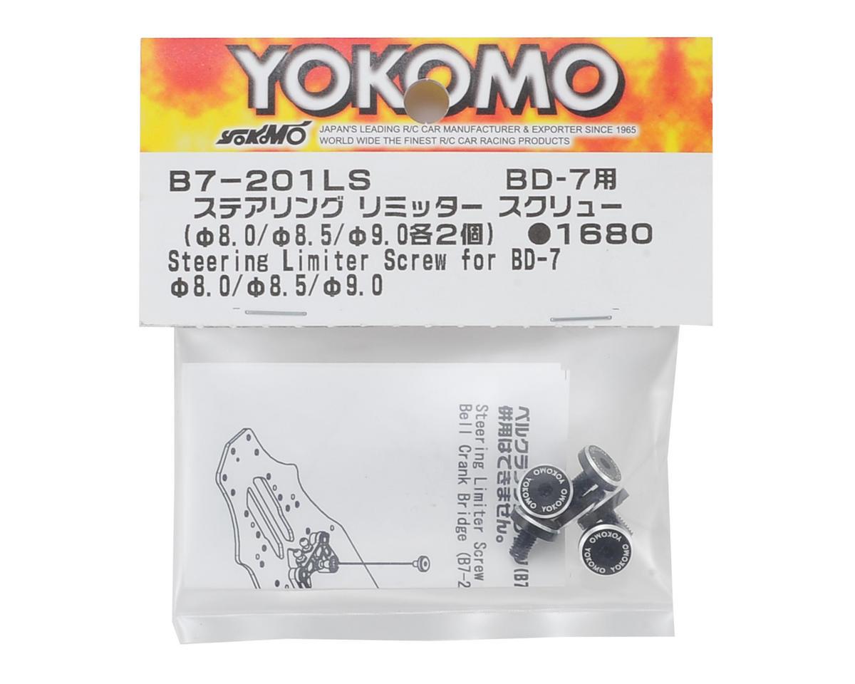 Yokomo Steering Limiter Screw (8.0mm, 8.5mm & 9.0mm x 2 each)