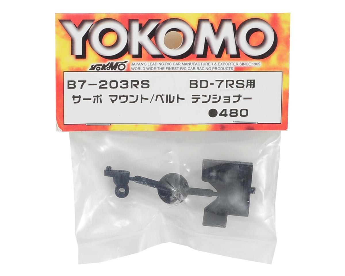 Yokomo Servo Mount & Belt Tensioner (RS)