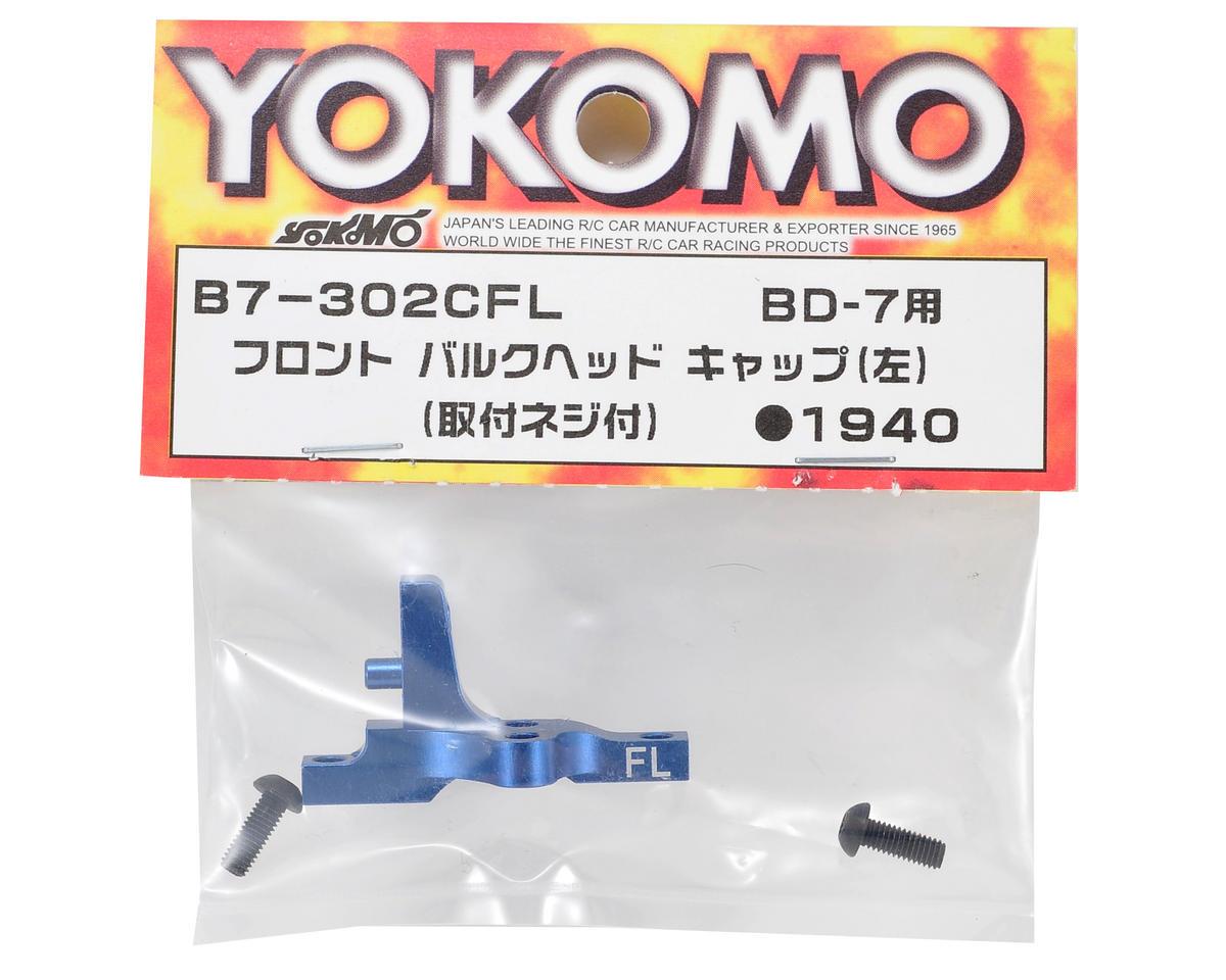 Yokomo Front Bulkhead Cap (Left)