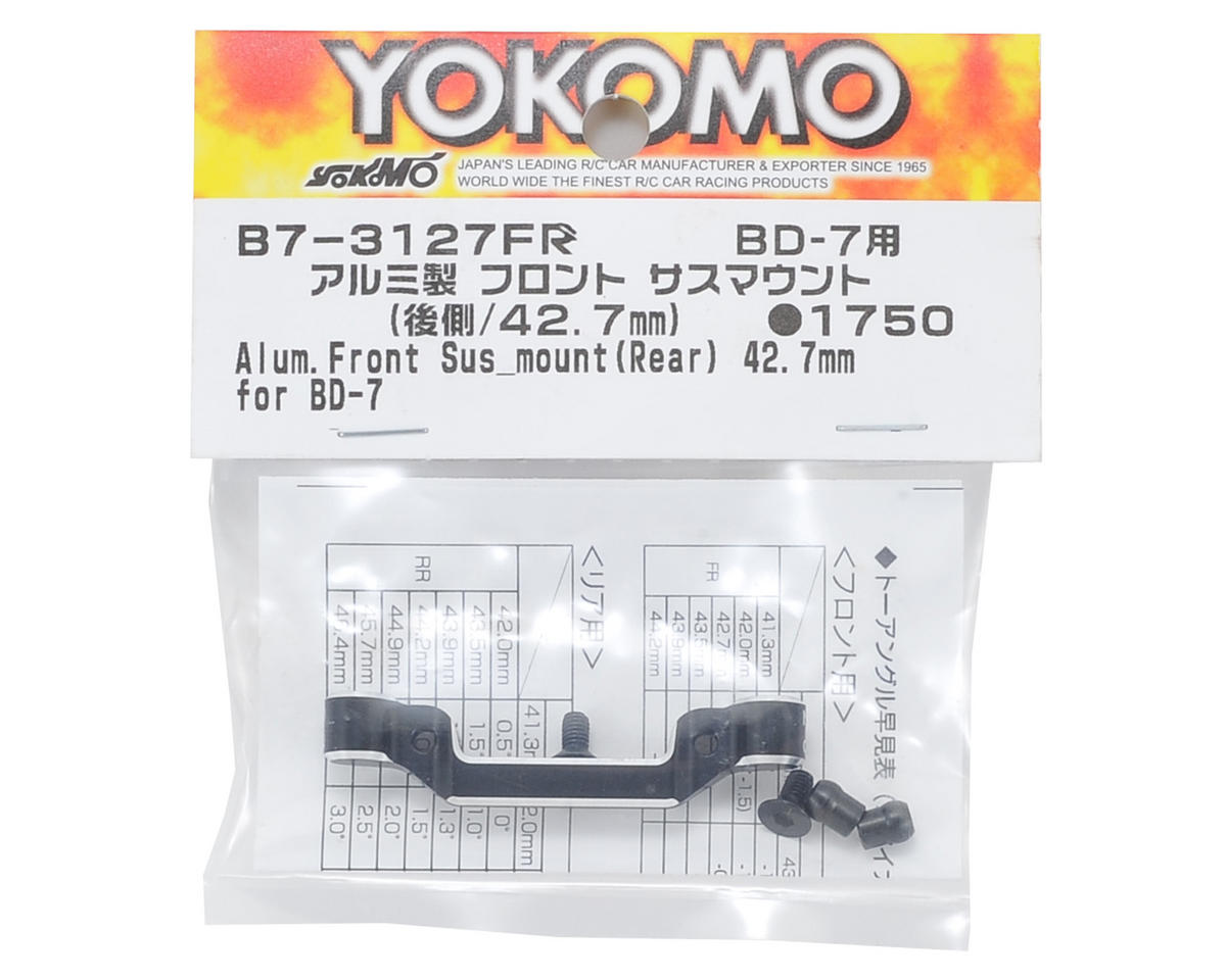 Yokomo Aluminum Front-Rear Suspension Mount (42.7mm)