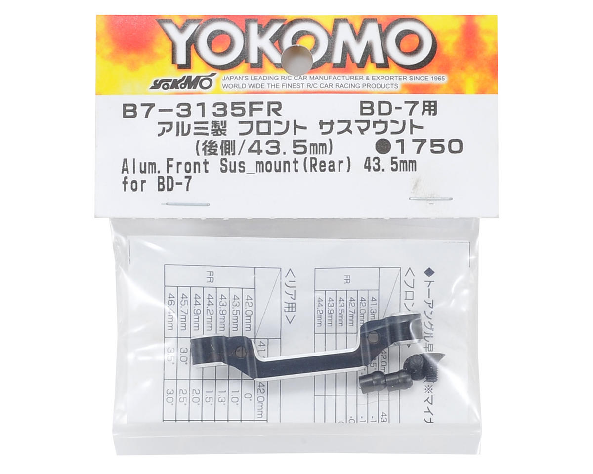 Yokomo Aluminum Front-Rear Suspension Mount (43.5mm)