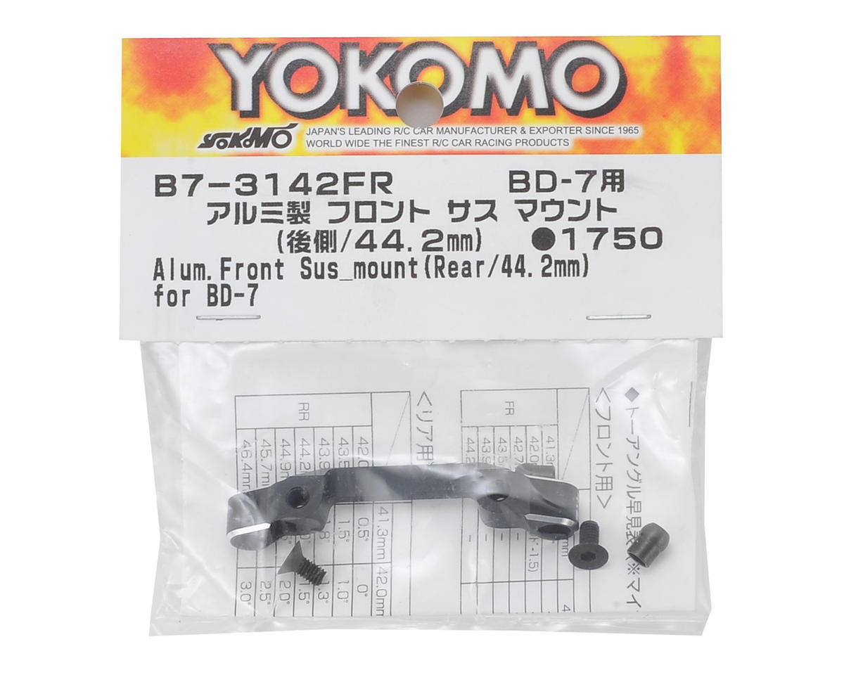 Yokomo Aluminum Front Rear Suspension Mount (44.2mm)