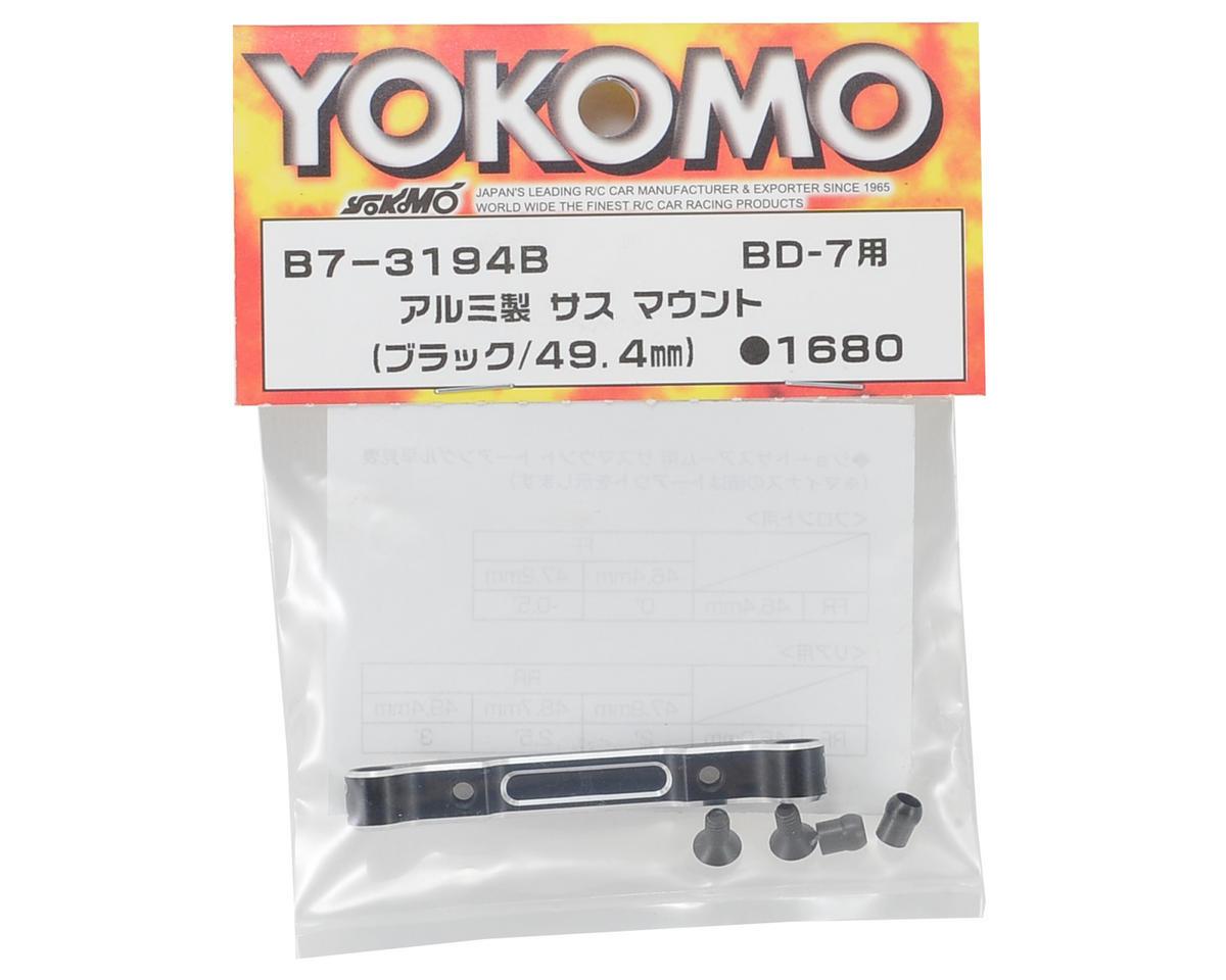 Yokomo 49.4mm Aluminum Rear-Rear Suspension Mount (Short)