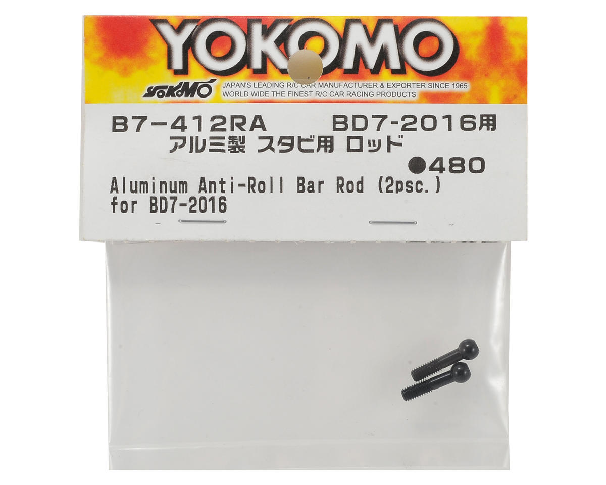 Yokomo Aluminum Anti-Roll Stabilizer Bar (Black) (2)