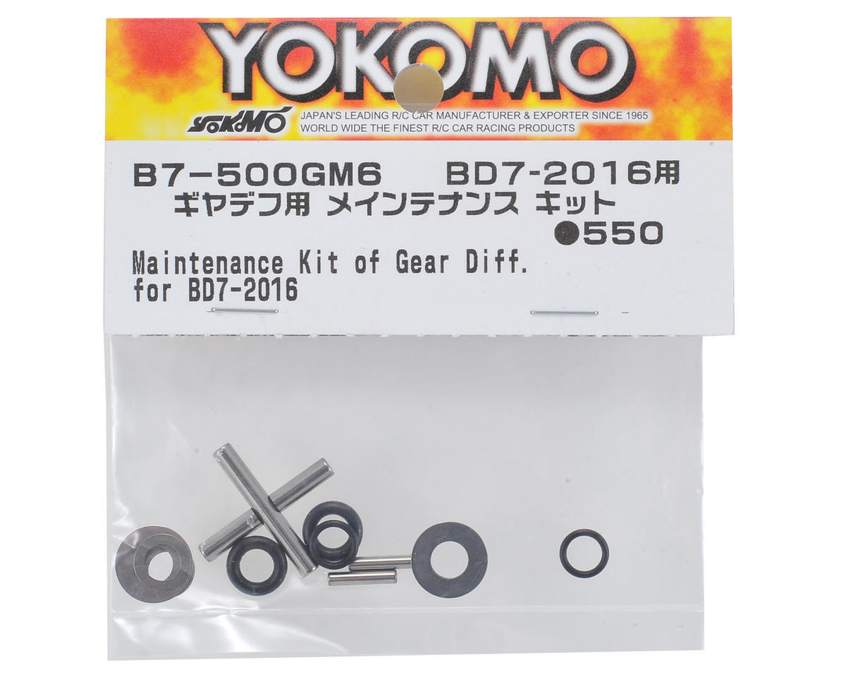 Gear Differential Maintenance Kit by Yokomo