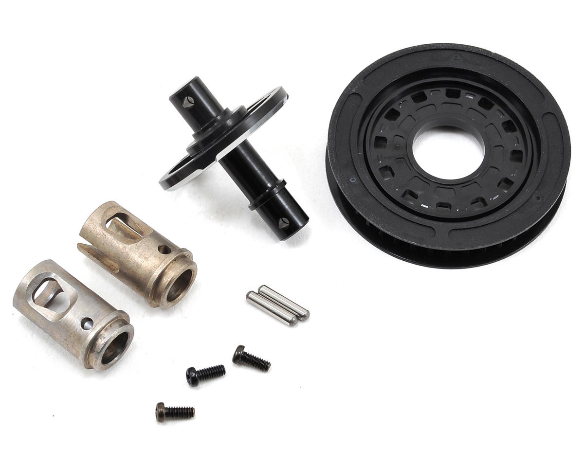 Yokomo Aluminum Solid Axle Set