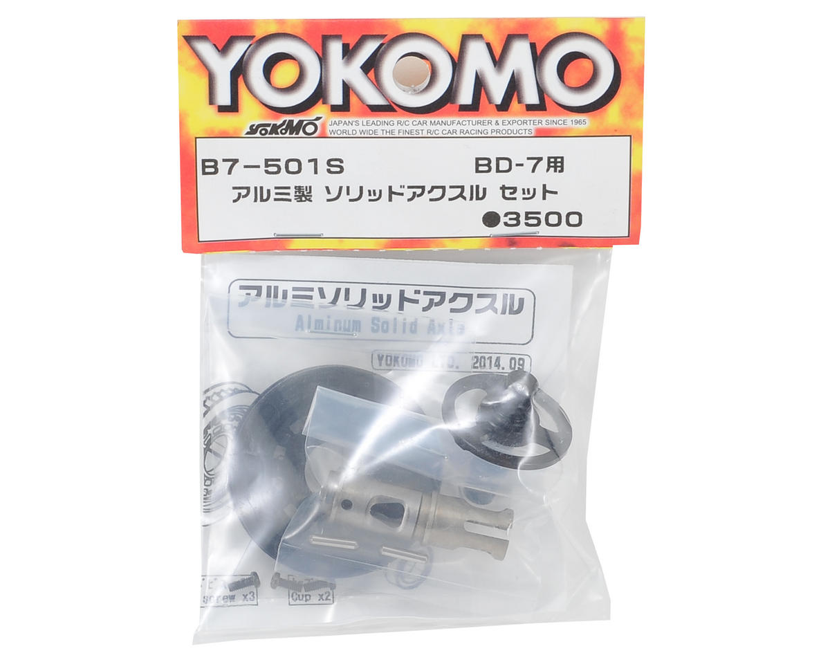 Aluminum Solid Axle Set by Yokomo