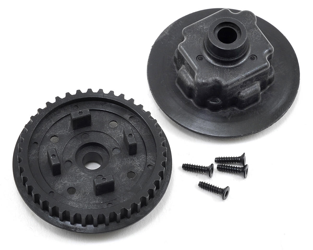 Yokomo Gear Differential Pulley & Case