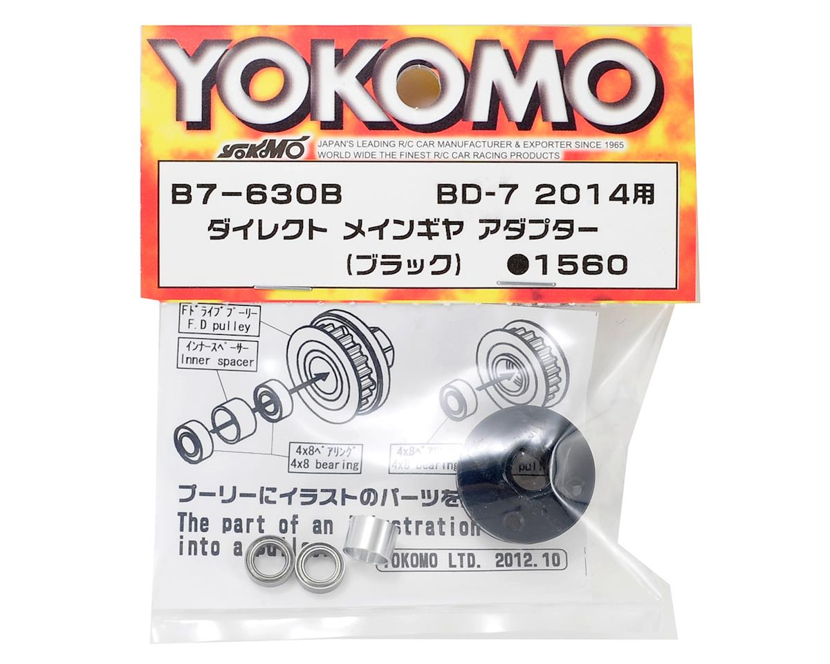 Yokomo 2014 Direct Main Gear Adapter w/Bearings