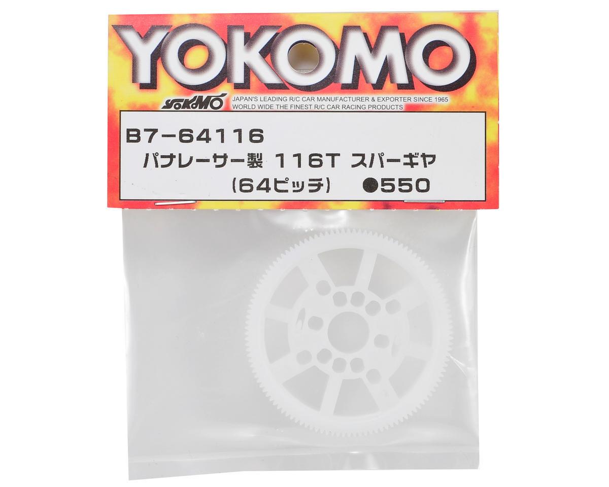 Yokomo BD7 Panaracer 64P Spur Gear (116T)
