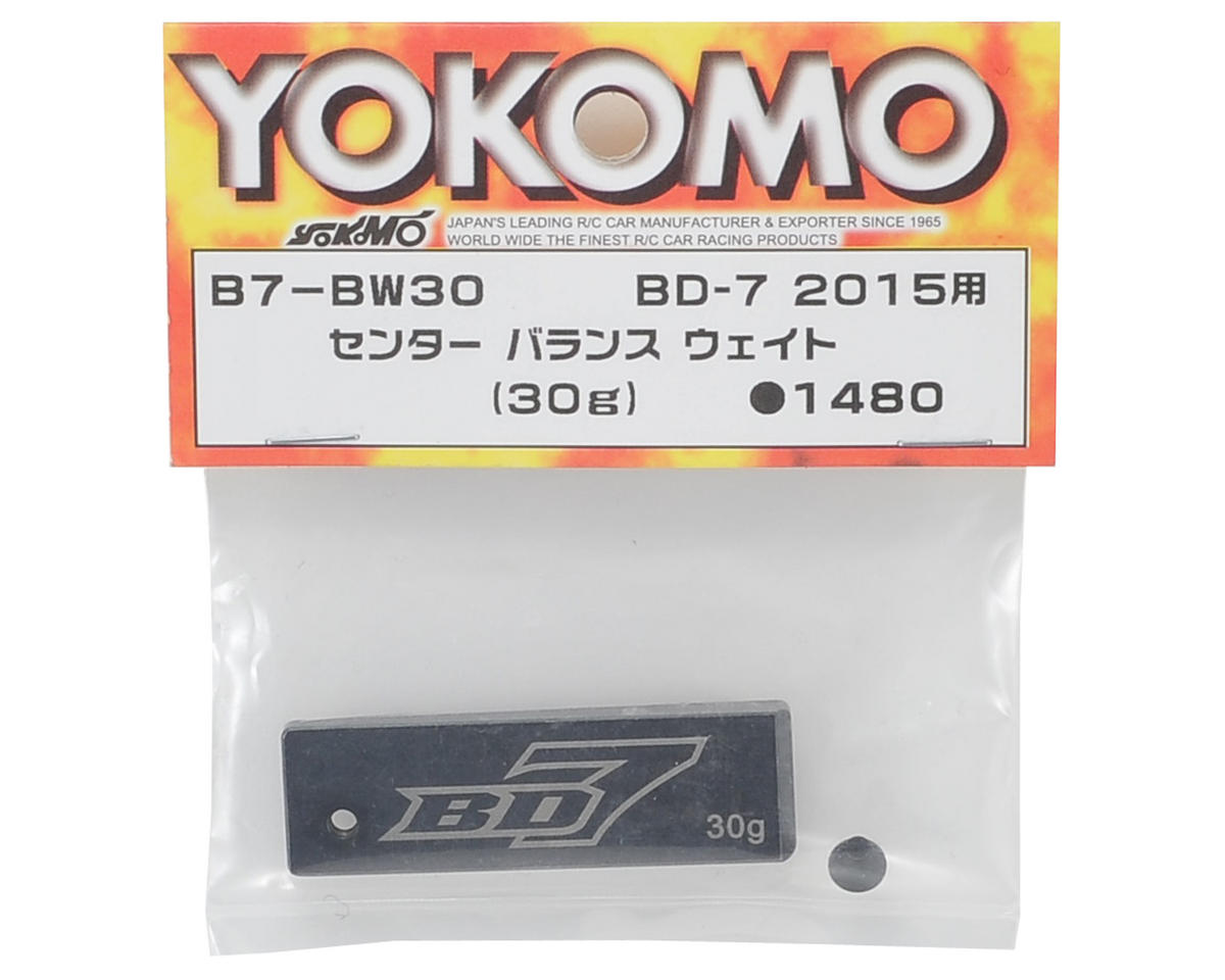 Yokomo Center Balance Weight (30g)