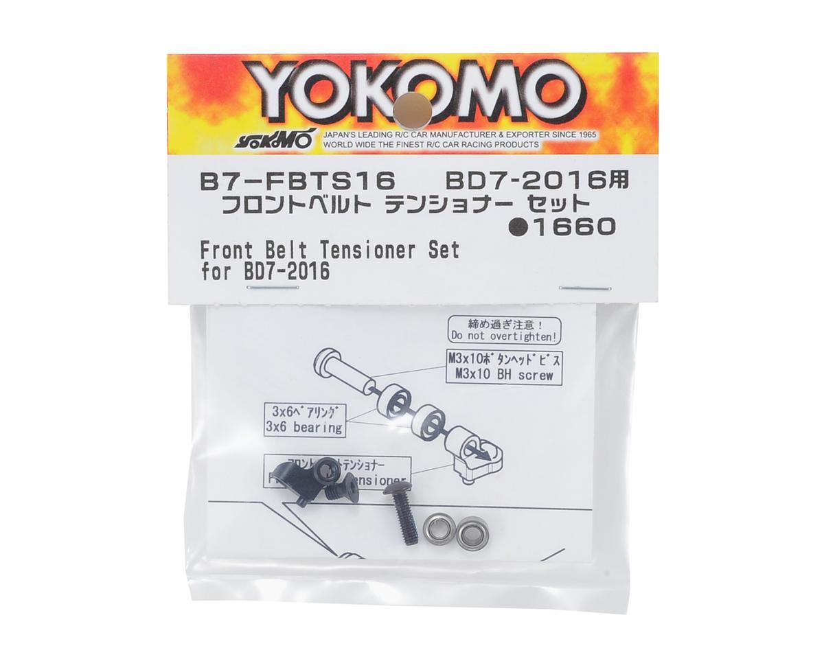 Yokomo Front Belt Tensioner Set (Black)