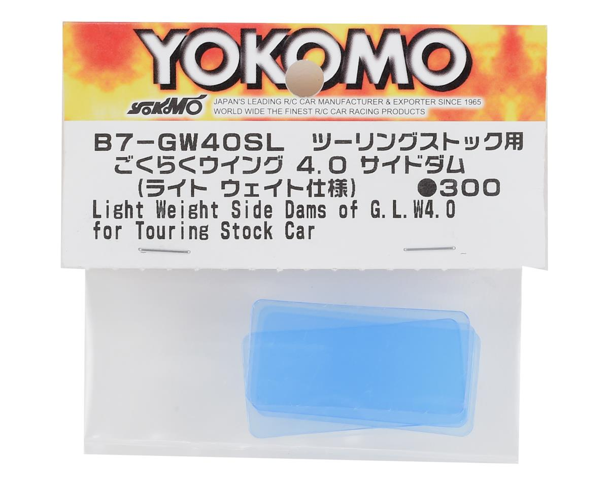 Yokomo Lightweight Good Luck Wing 4.0 Side Dam Plate (4)