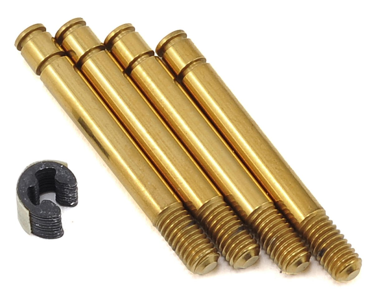 Titanium Carbide Coated Shock Shaft (4) (SLF Short) by Yokomo