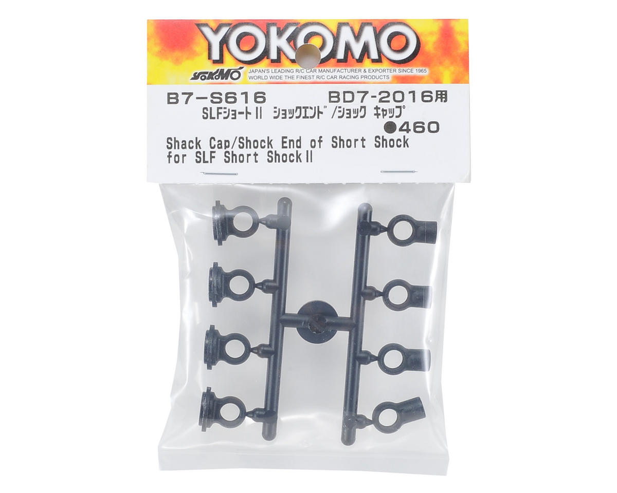 Yokomo Shock Cap & Shock End Set (for SLF Short Shock II)