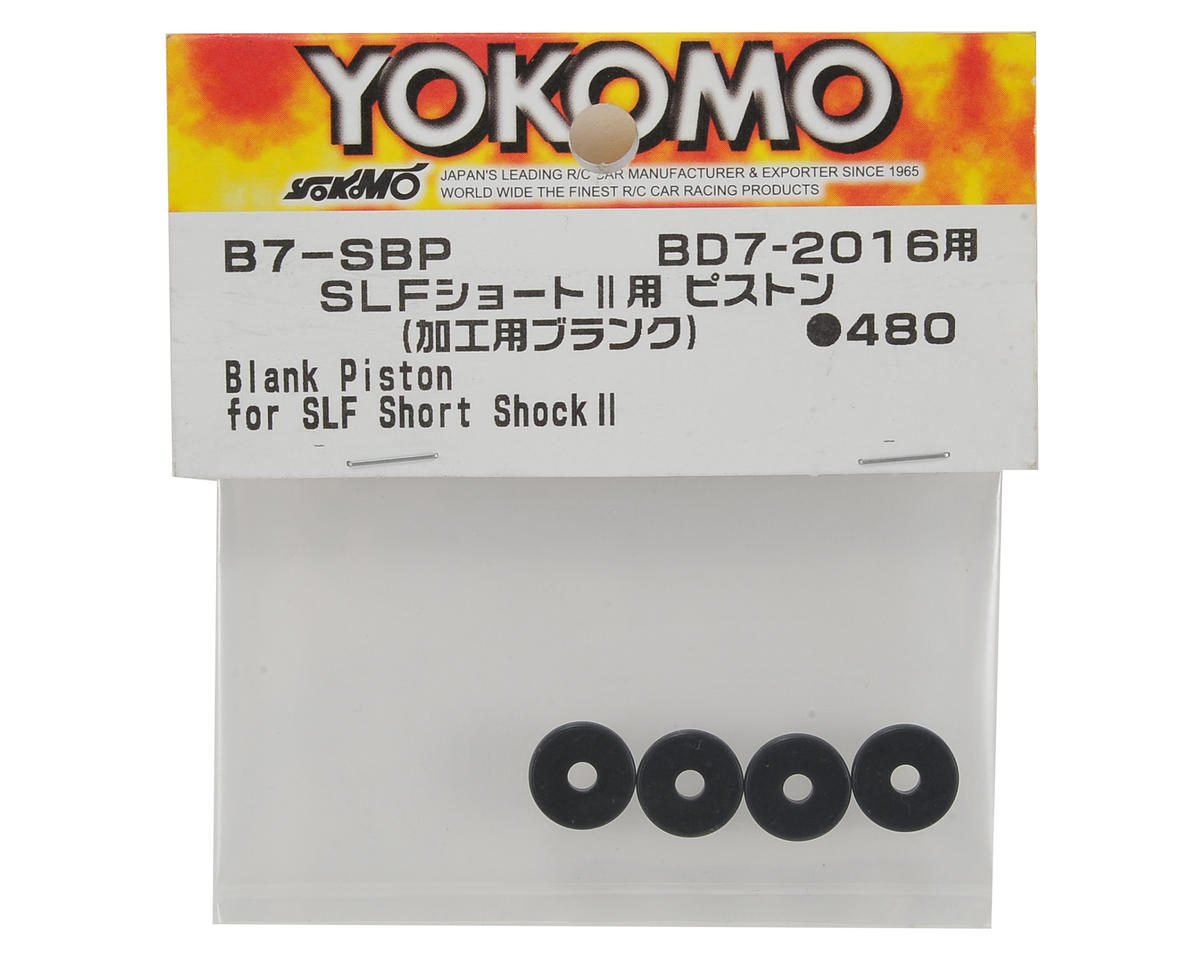 Yokomo Blank Piston (4) (for SLF Standard Shock)