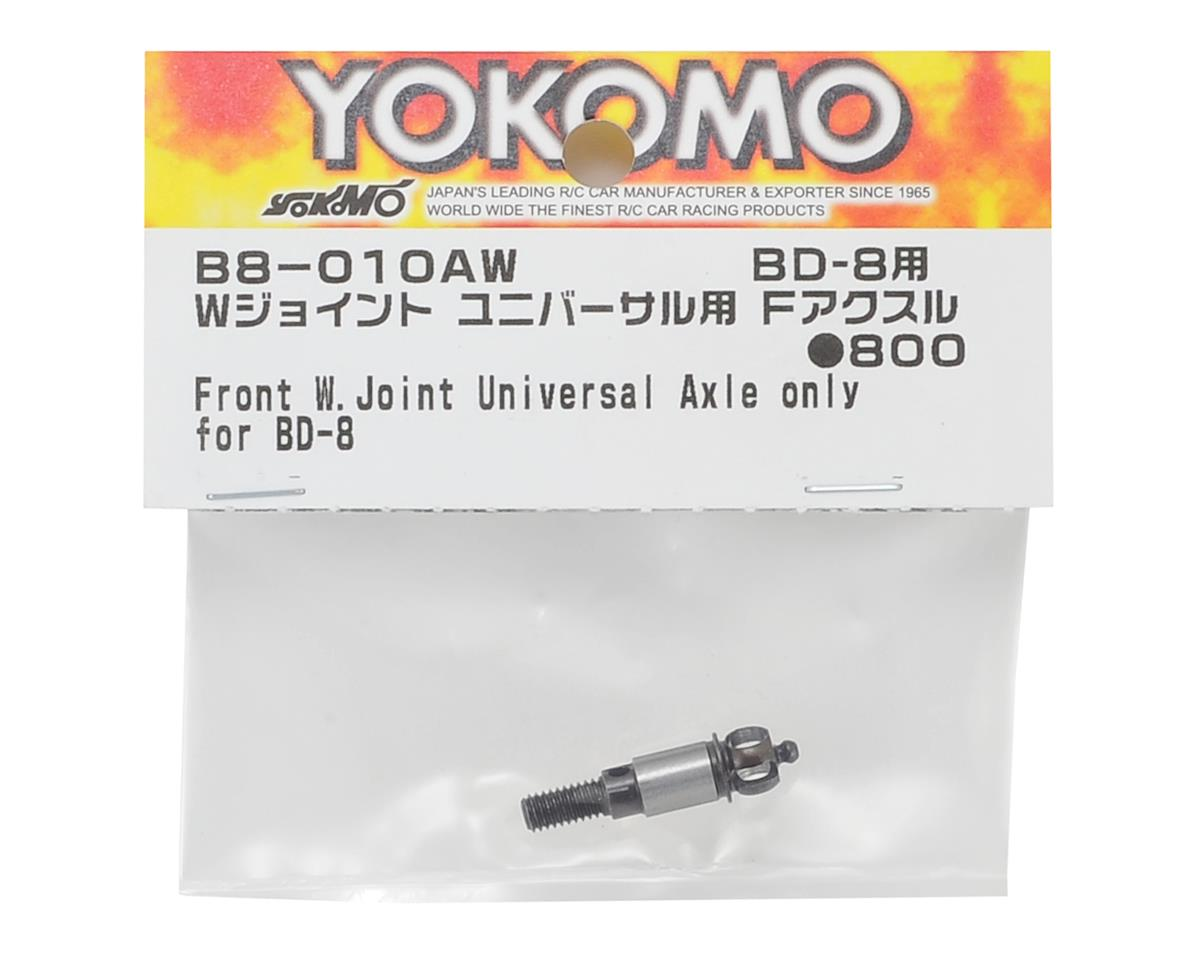 Yokomo BD8 Double Joint Universal Axle (Front)