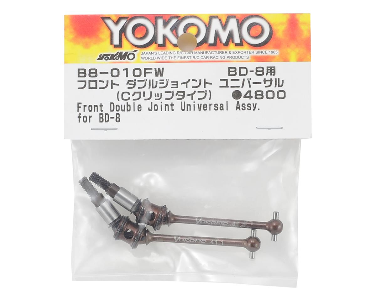 Yokomo BD8 Double Joint Front Universal Shaft (2) (C Clip Type)
