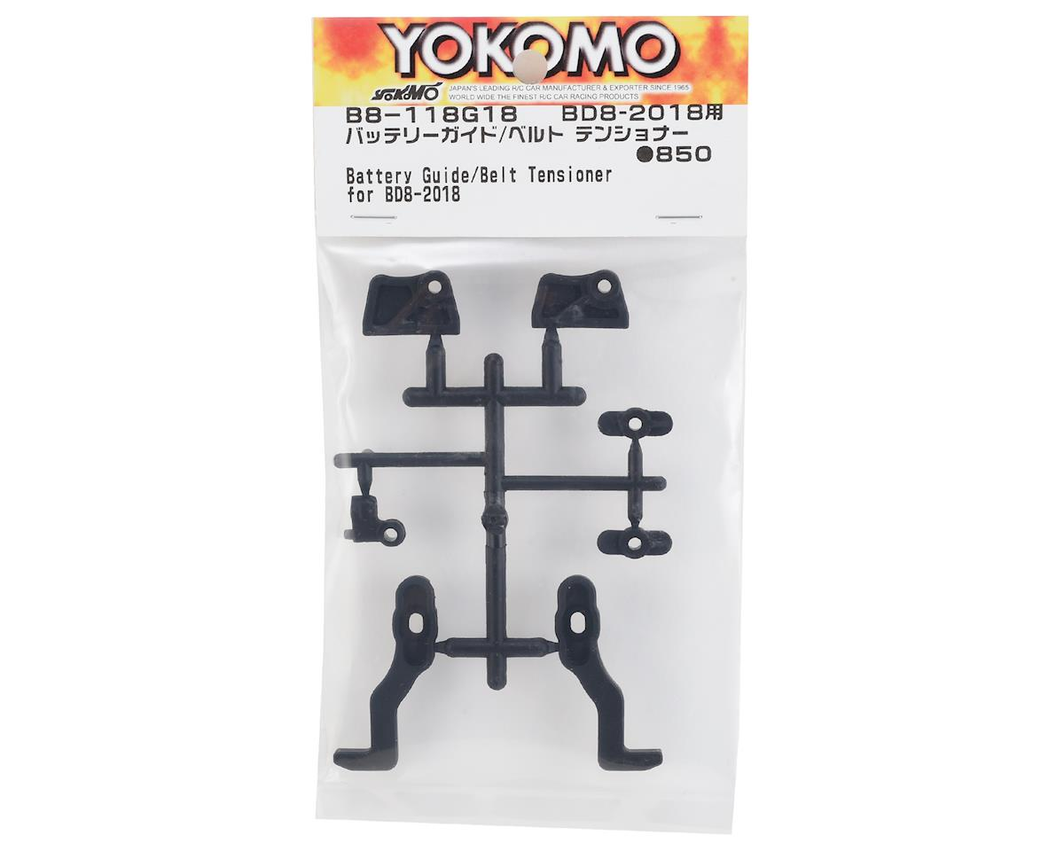 Yokomo BD8 2018 Plastic Battery Guide/Belt Tensioner