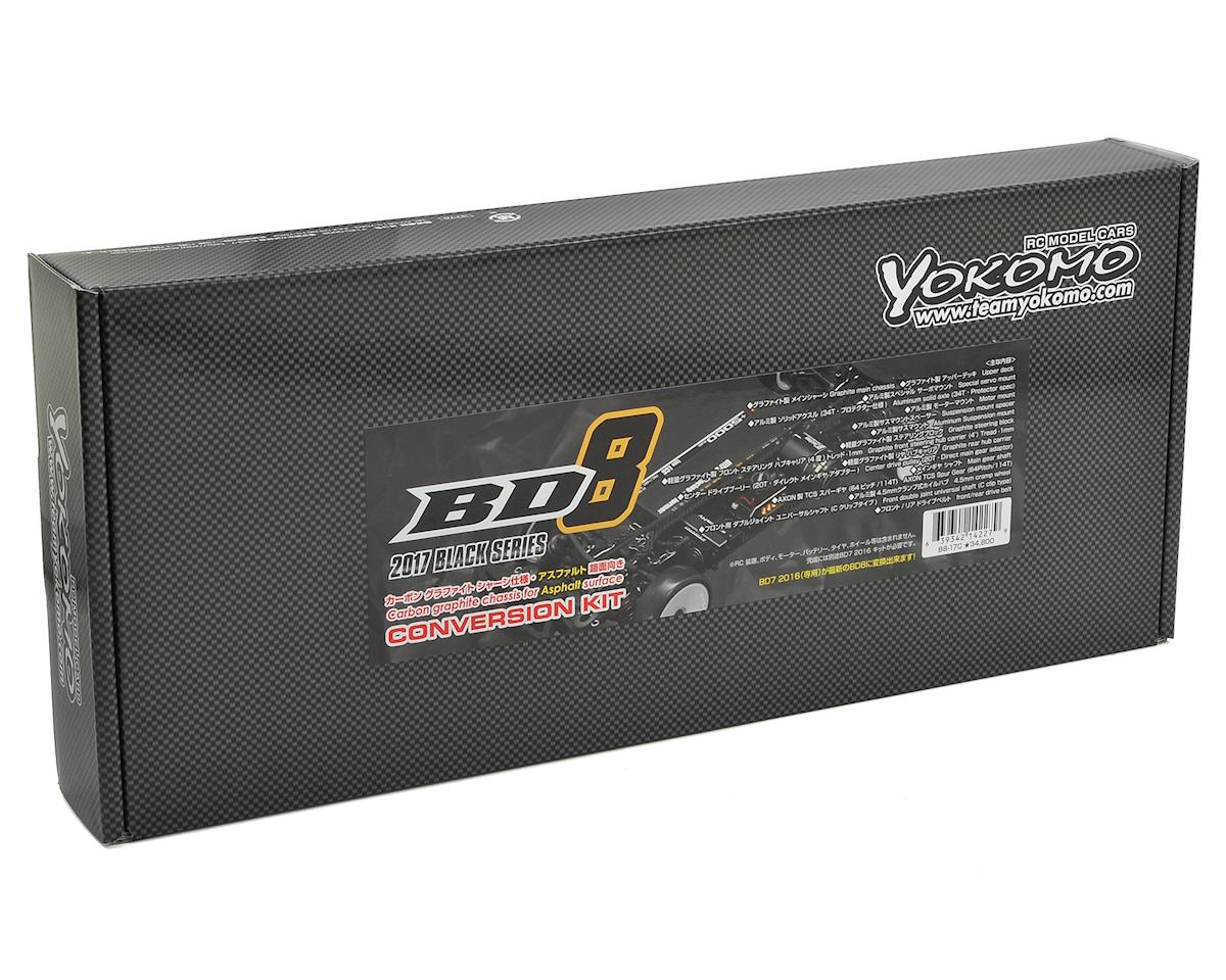 Yokomo BD8 Carbon Graphite Chassis Conversion Kit (BD7 2016)