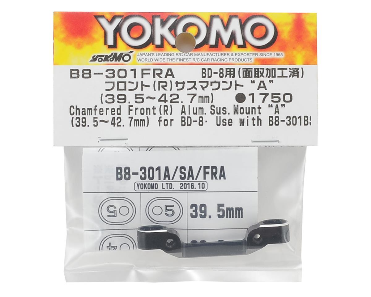 "Yokomo Aluminum FR Suspension Mount ""A"" (39.5mm-42.7mm)"