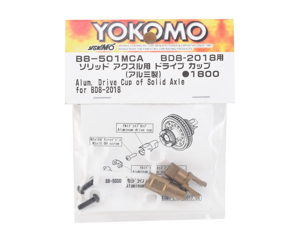 Yokomo BD8 2018 Aluminum Drive Cup (for Solid Axle)