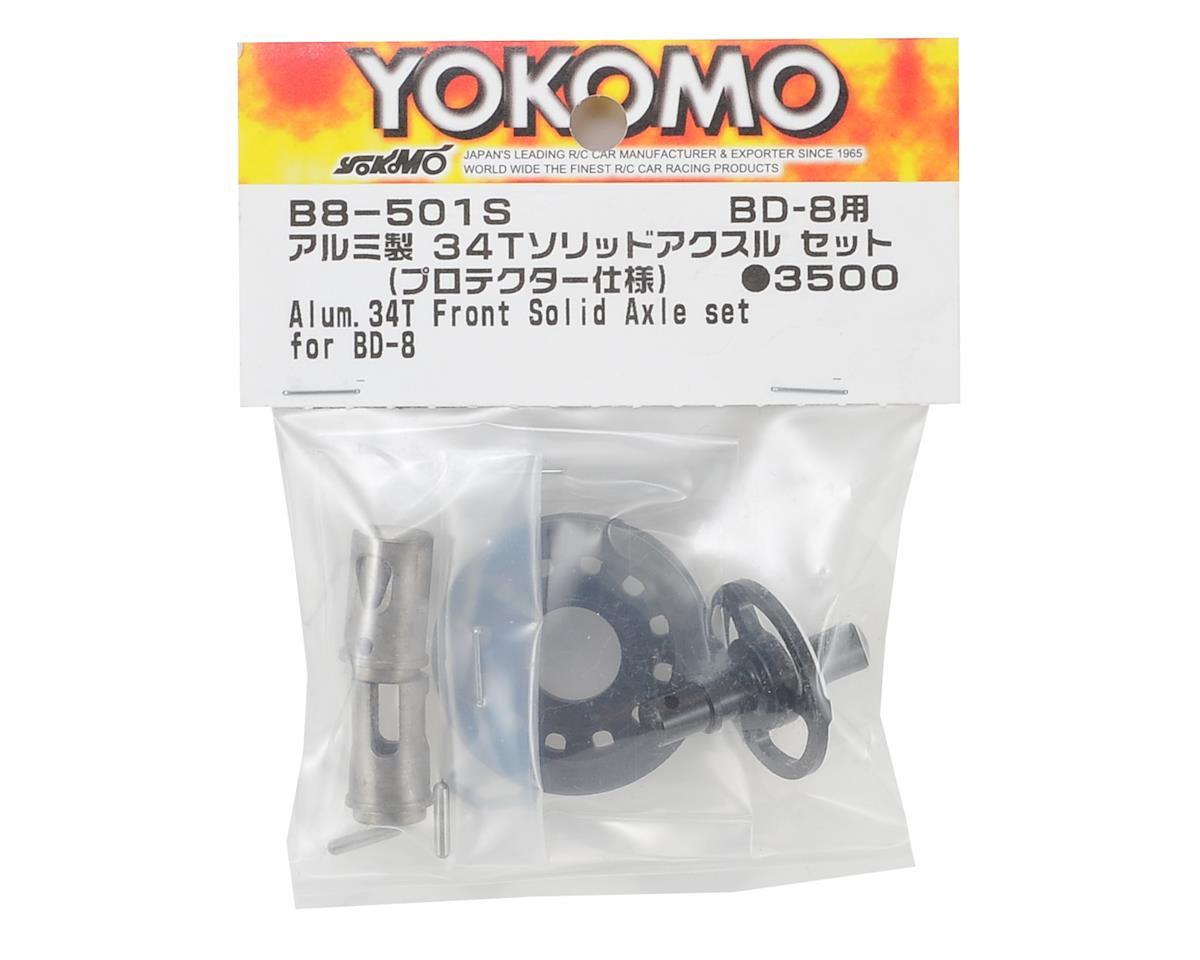 Yokomo BD8 Aluminum Protector Spec Solid Axle (34T)