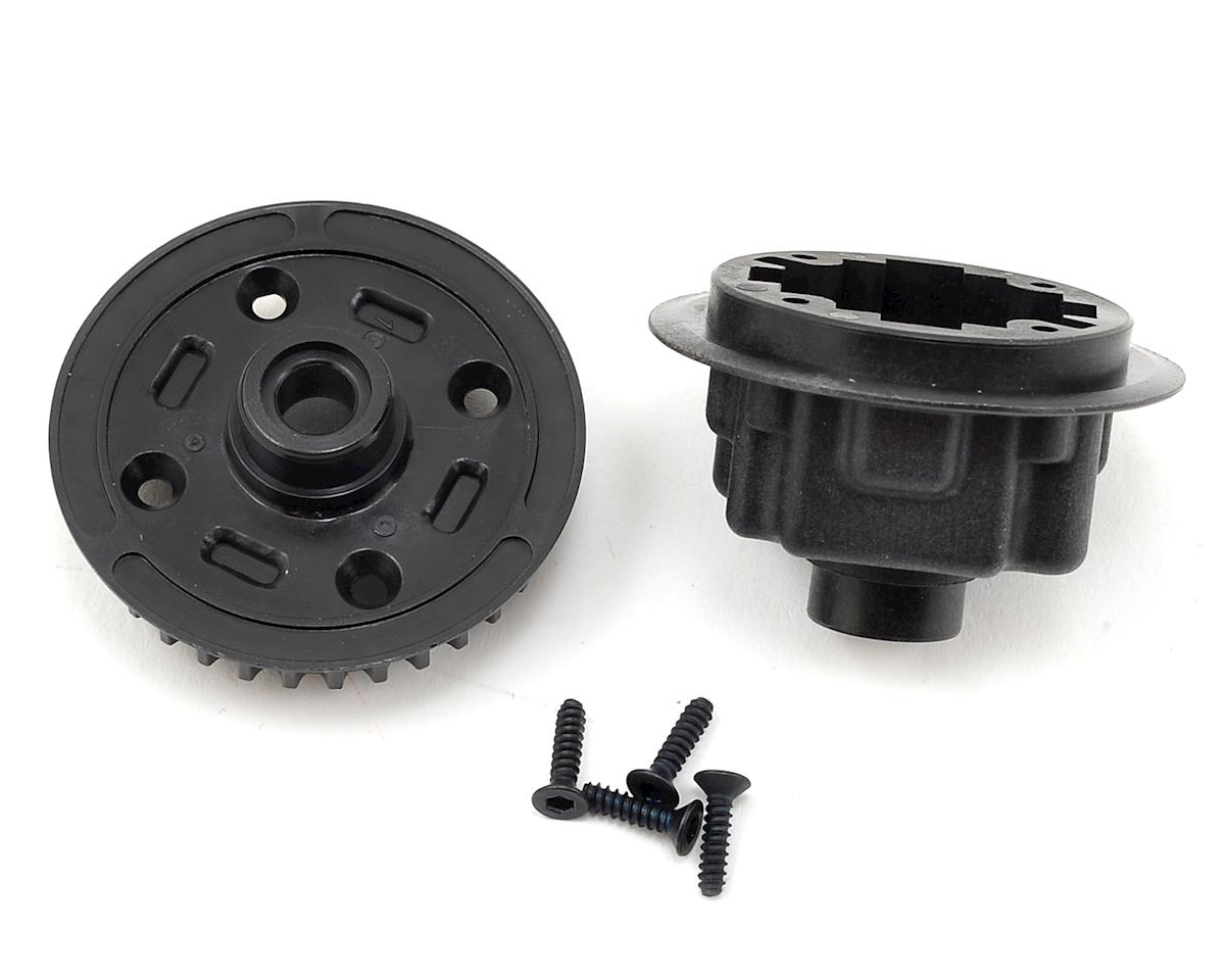 Yokomo Differential Case/Pulley Set (34T)