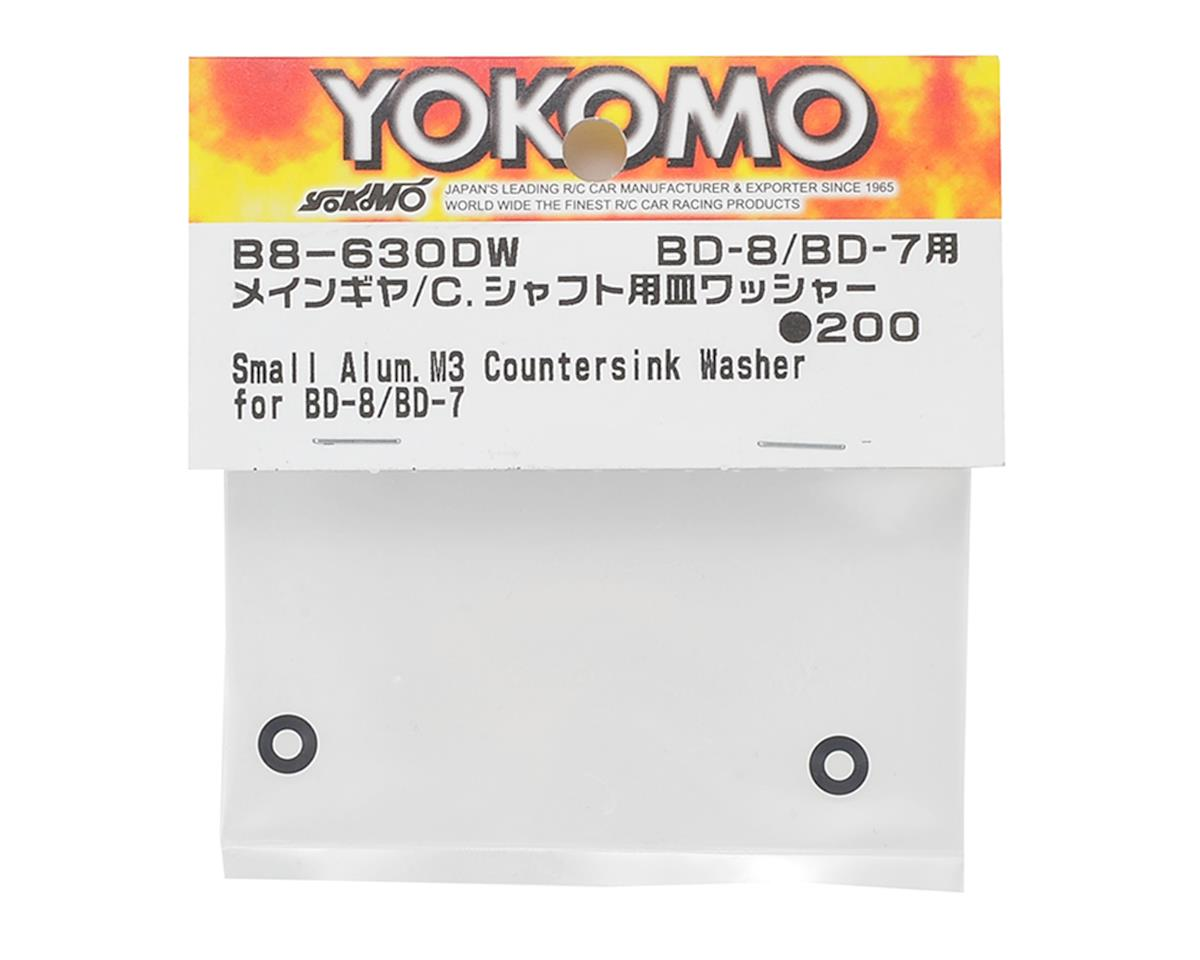 Yokomo BD8 M3 Taper Washer (2) (Main Gear)