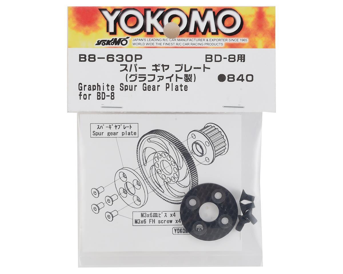 Yokomo Graphite Spur Gear Plate