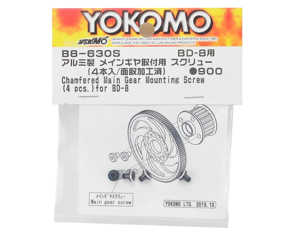 Yokomo BD8 Main Gear Screw (4)
