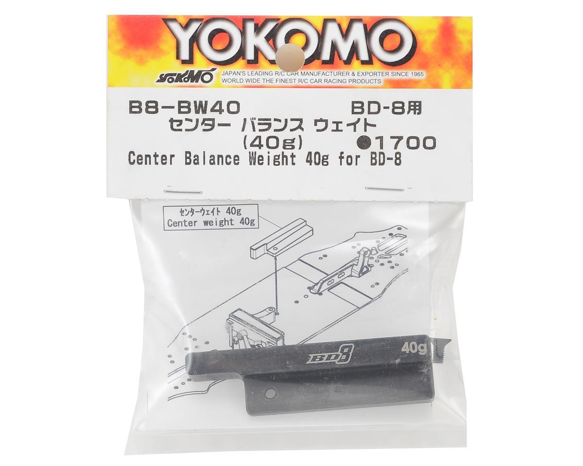 Yokomo BD8 Center Balance Weight (40g)