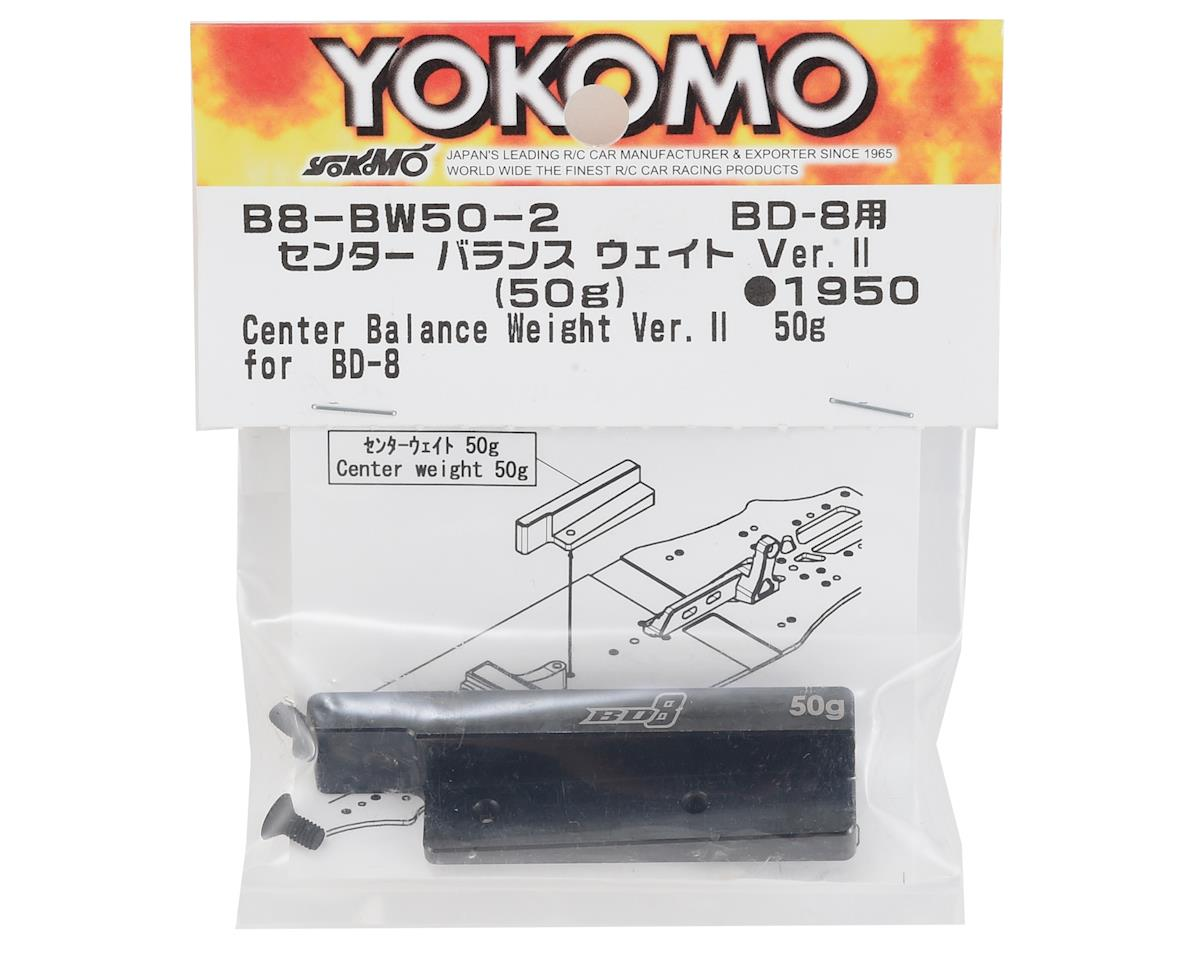 Yokomo Steel Center Balance Chassis Weight V2 (50g)